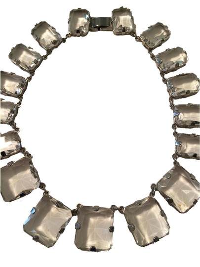 Ann Taylor Clear chunky necklace