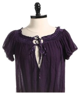bebe Top Dark Purple