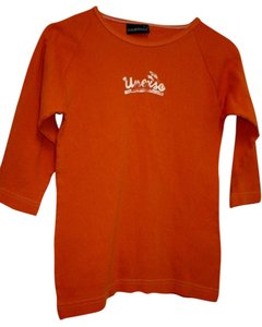 Jones & Mitchell Xl Fitted T Shirt Orange
