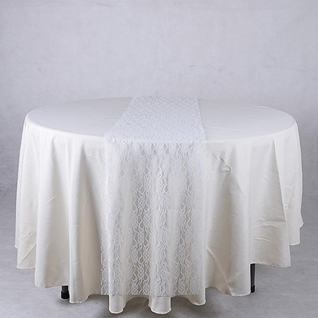 Item - White Lace Table Runners New Tablecloth