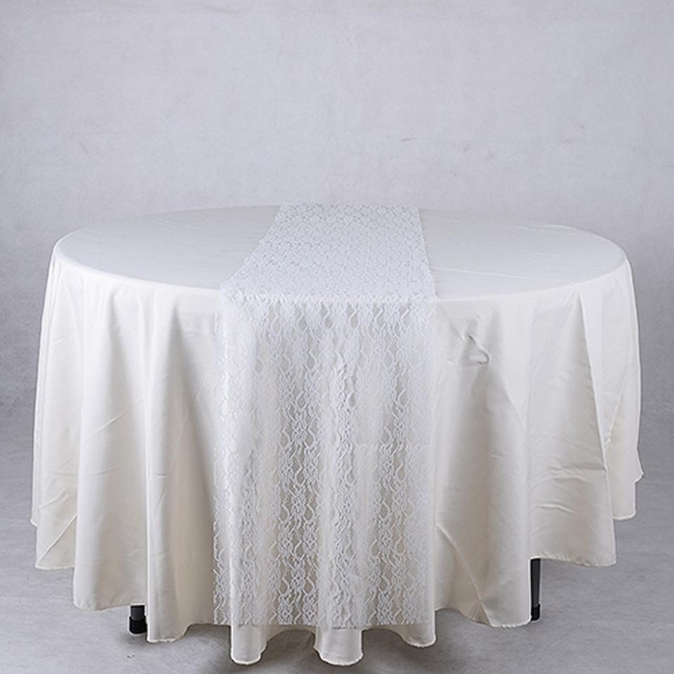 Lace Tablecloths Oval 300x300.jpg White Lace Table Runners New Tablecloth - Tradesy