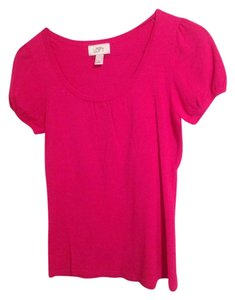 Ann Taylor LOFT Top Hot Pink