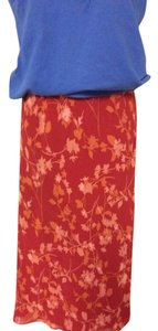 Laura Ashley Skirt Red