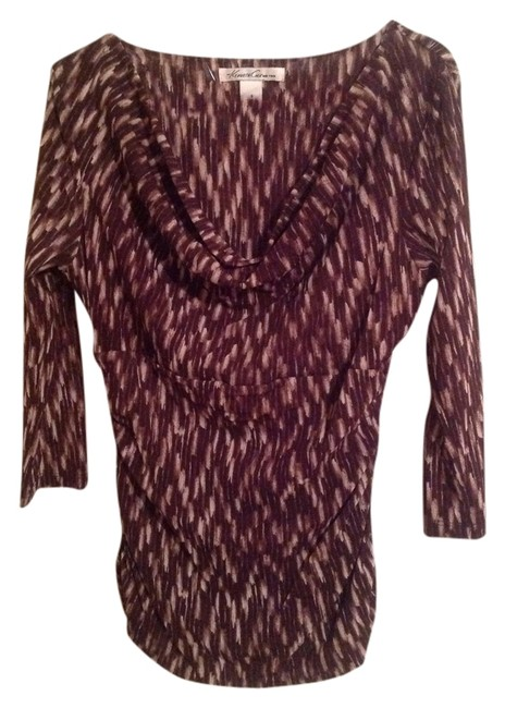 Preload https://img-static.tradesy.com/item/1155854/kenneth-cole-brown-blouse-size-6-s-0-0-650-650.jpg