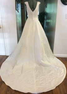 Jasmine Bridal Ivory Jasmine Wedding Dress Classy With Gorgeous Detail Full Train Wedding Dress