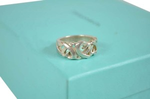 Tiffany & Co. Authentic Tiffany & Co Sterling Silver Picasso Heart Ring Size 6