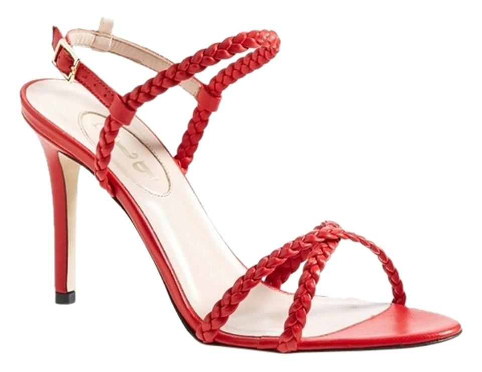 SJP by Rina Sarah Jessica Parker Red Rina by Sandals 17be65