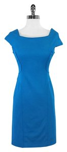 Reiss short dress Turquoise Fitted on Tradesy