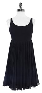 Carmen Marc Valvo short dress Black Cover Up on Tradesy