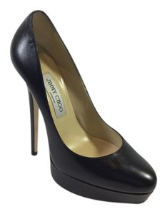Jimmy Choo Designer Eros Black Pumps