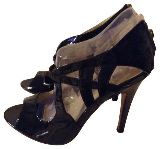 Charlotte Russe Heels Work Night Out Sexy Black Sandals