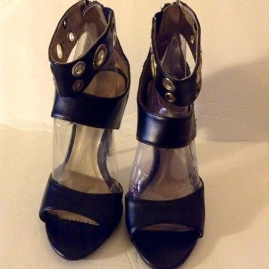 Charlotte Russe Sandals Heels Work Night Out Black Pumps
