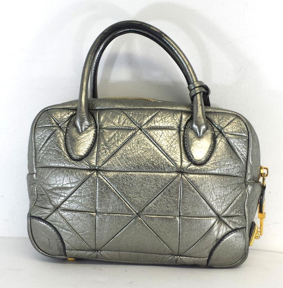 Marc Jacobs Metallic Silver Quilted Leather Hobo Bag | Hobos on Sale