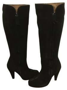 Twelfth St. by Cynthia Vincent Carrie Boot Suede Black Boots