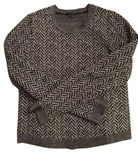 Theory Herringbone & Wool Sweater