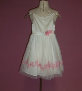 Alfred Angelo Ivory/Tea Rose 6637 Size 5 Dress