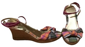 J.Crew Plaid Wedges