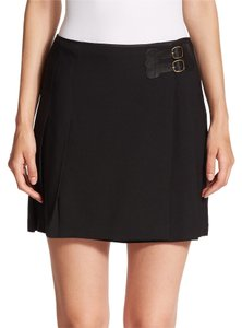 Polo Ralph Lauren Pleated Mini Skirt Black