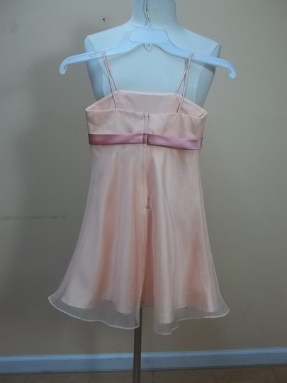Alfred Angelo Peach Fizz/Shrimp 6476mm Formal Bridesmaid/Mob Dress Size OS (one size)