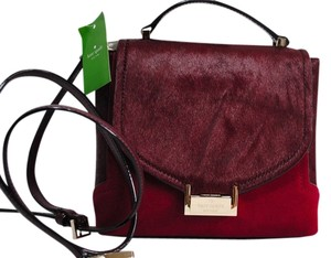 Kate Spade Oxblood Fall Winter Satchel in Burgundy red