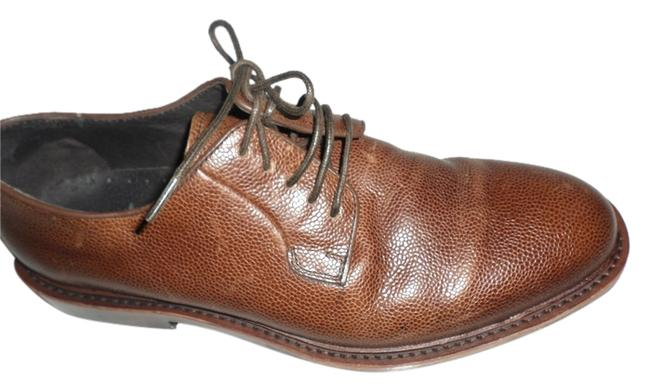 """Saks Fifth Avenue Brown Mens Dress """"Red"""" Class Cause B Laced Oxfords Leather Men's Dress Boots/Booties Size US 9.5 Regular (M, B) Saks Fifth Avenue Brown Mens Dress """"Red"""" Class Cause B Laced Oxfords Leather Men's Dress Boots/Booties Size US 9.5 Regular (M, B) Image 1"""