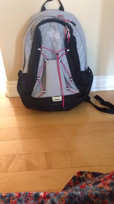 Item - Jester Grey and Pink Backpack