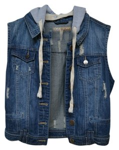 Hybrid Apparel Pac Sun Removable Hood Hoodie Vest