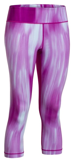 Item - Purple XS Women's Perfect Printed Capri - Fuxia Activewear Bottoms Size 2 (XS, 26)