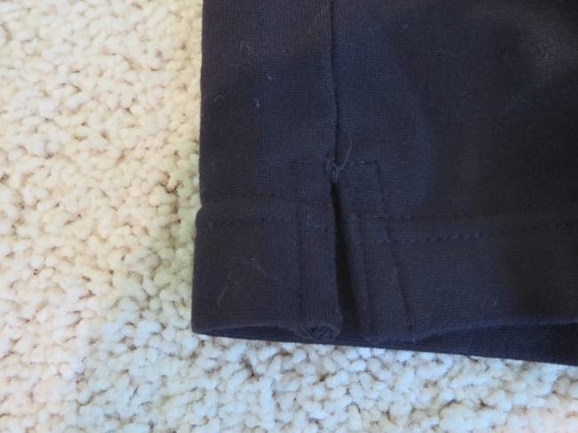 Juicy Couture Stretchy Zipper Pockets Black Leggings