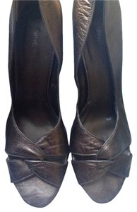 Nine West Bronze Wedges