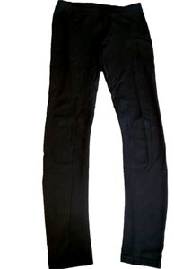Guess Suede Stretchy Black Leggings