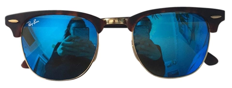 347d9a95be Ray-Ban Tortoise Blue Mirrored Rb3016 Sunglasses - Tradesy
