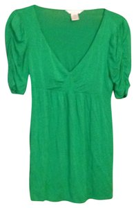 Charlotte Russe Top Emerald green