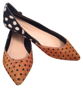 Loeffler Randall Polka Dot Black/Brown Flats