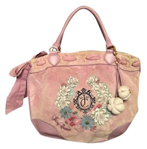 Juicy Couture Tote in Mauve
