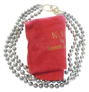 Kenneth Jay Lane Kenneth Jay Lane Multi Strand Faux Pearl Necklace 16