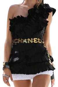 Chanel Vintage Coco Chanel Red Leather Belt or Necklace