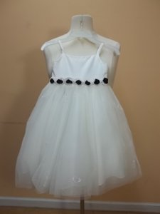 Alfred Angelo Ivory Satin 6467t Formal Bridesmaid/Mob Dress Size OS (one size)
