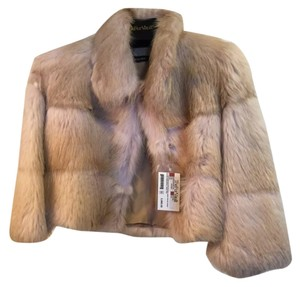 Carmen Marc Valvo Fur Coat