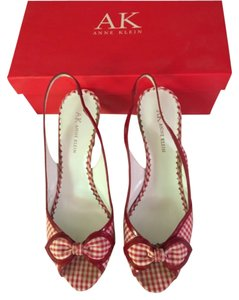 Anne Klein Red and white Formal