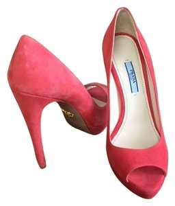 Prada Coral Pumps