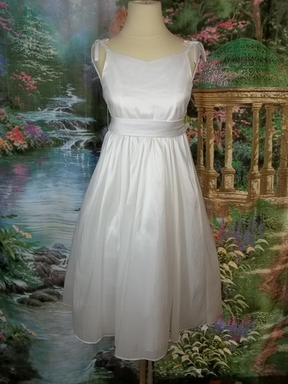 Alfred Angelo White 6609 Size 7 Dress