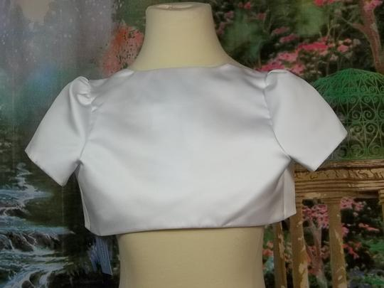 Alfred Angelo White 6627 Size 7 Dress