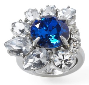 Juicy Couture Juicy Couture Blue Brentwood Gemstone Cocktail Ring