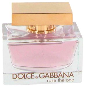 Dolce&Gabbana Dolce & Gabbana ROSE THE ONE Womens Perfume 2.5 oz 75 ml TESTER Eau De Parfum Spray