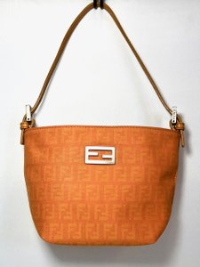 Fendi Monogram Handbag Tote Shoulder Baguette