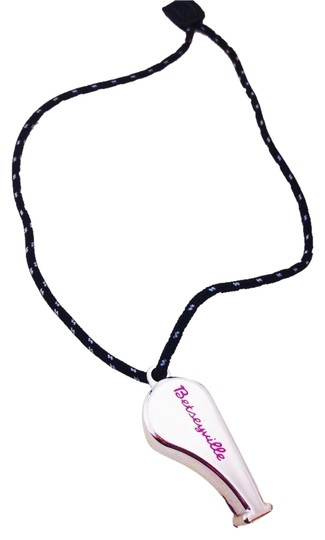 Betseyville by Betsey Johnson Betseyville By Betsey Johnson Rare Silver Whistle Purse Charm
