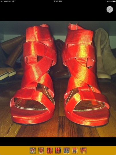 H&M red Boots