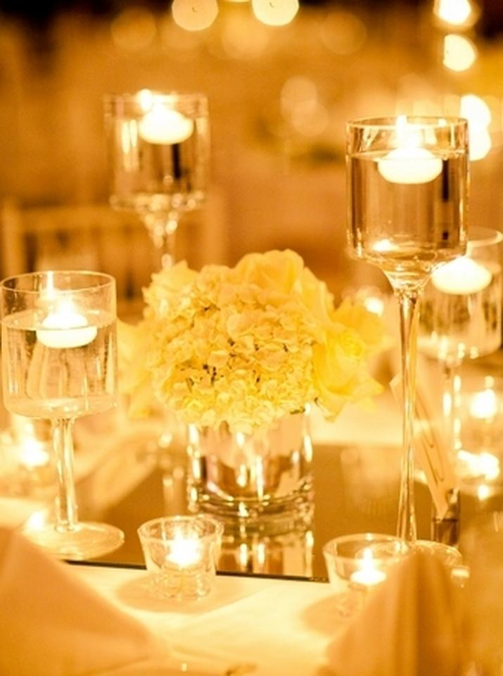 White 36 Floating Candles Reception Decoration Tradesy