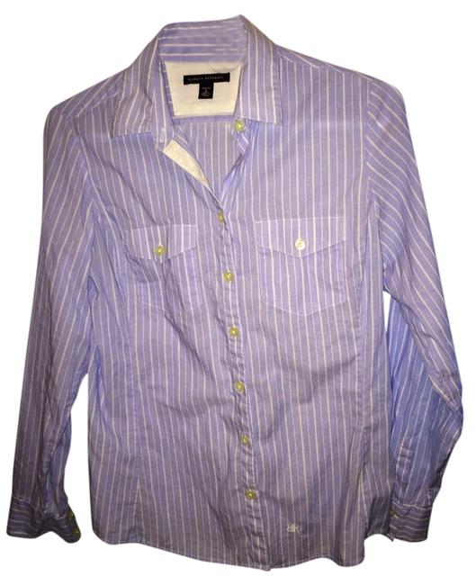 Preload https://item4.tradesy.com/images/banana-republic-blue-button-down-top-size-petite-4-s-1157343-0-0.jpg?width=400&height=650